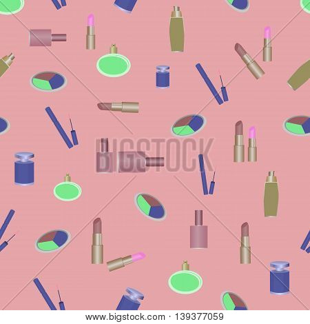 cosmetics perfumery pattern abstraction beauty makeup lipstick