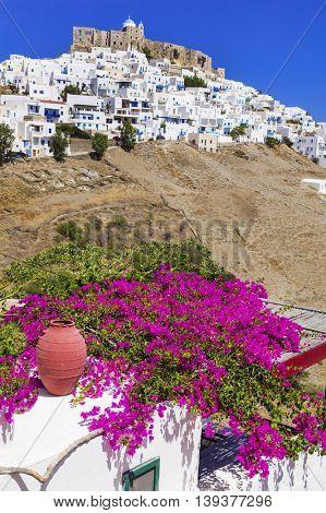 Beautiful scenery -impressive Astypalea island . Greece, Dodecan