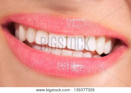 Healthy Smile With Beautiful White Teeth