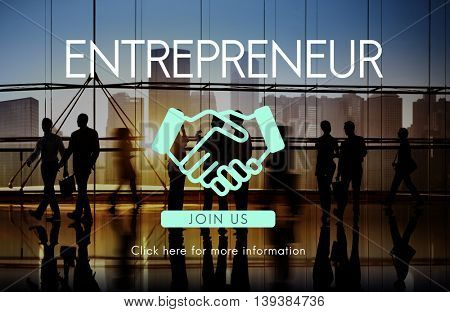 Entrepreneur Startup New Business Entrepreneurship Concept