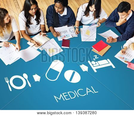 Medical Health Wellbeing Proper Care Concept