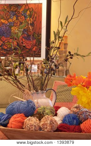 Art Decor And Yarn