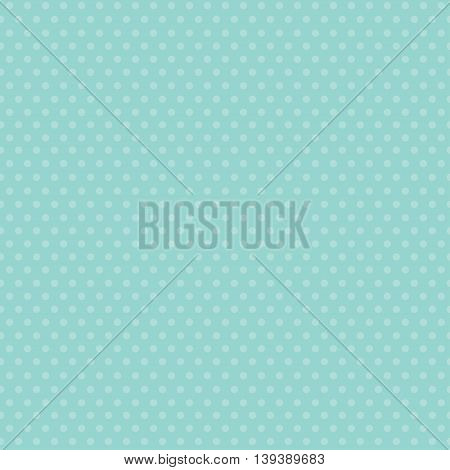 vector seamless polka dot pattern, white and pale mint polka dot wallpaper