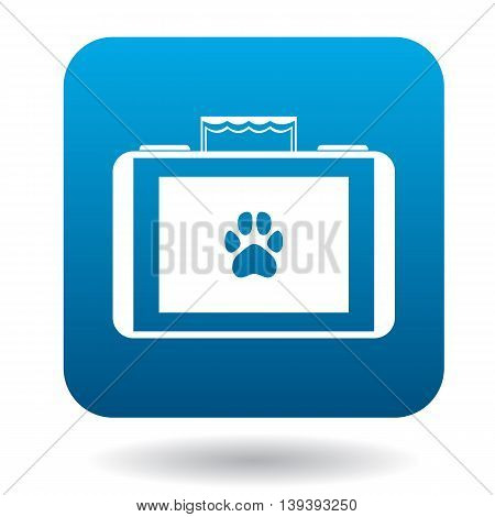 Equipment for veterinary icon in simple style isolated on white background