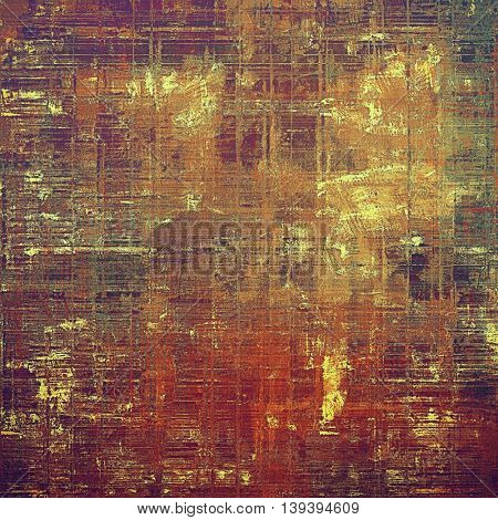 Veined grunge background or scratched texture with vintage feeling and different color patterns: yellow (beige); brown; gray; green; red (orange); purple (violet)