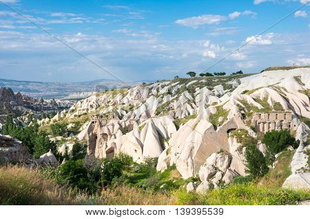 Pigeon valley in Cappadocia Central Anatolia Turkey