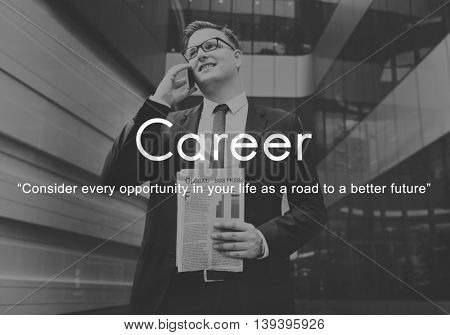 Career Hiring Human Resources Job Occupation Concept