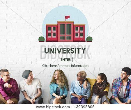 University College Academic Study Education Concept