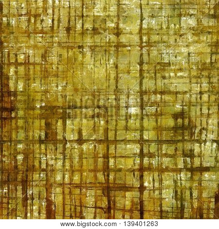Retro style grunge background, mottled vintage texture. With different color patterns: yellow (beige); brown; gray