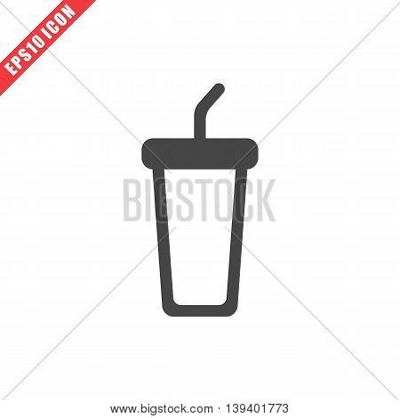 Vector Illustration Of Cola Icon