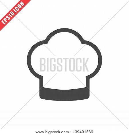 Vector Illustration Of Cook Hat Icon