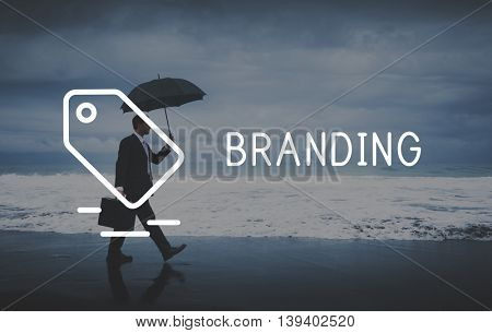Branding Marketing Trademark Label Concept