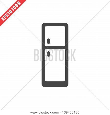 Vector Illustration Of Fridge Icon