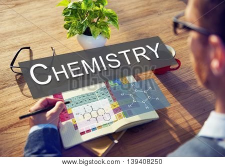 Chemistry Science Experiment Formula Concept