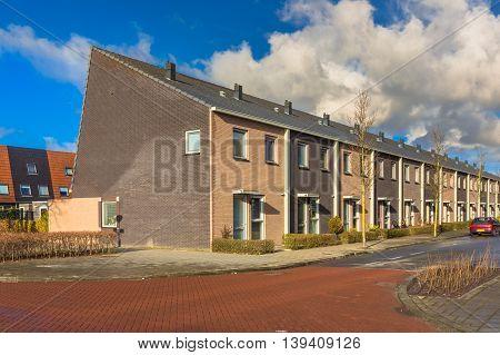 Town Houses European Style