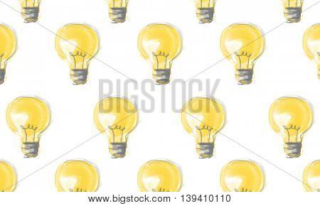 Light Bulb Idea Energy Symbol Concept