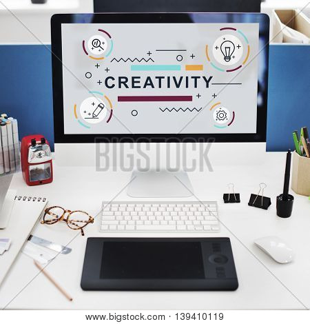 Creativity Ideas Design Invention Graphic Concept