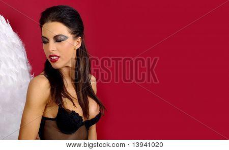 Woman - angel or devil