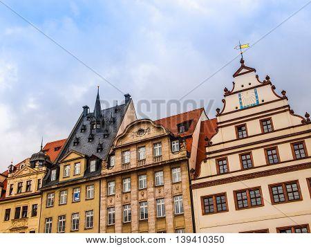 Leipzig Germany Hdr
