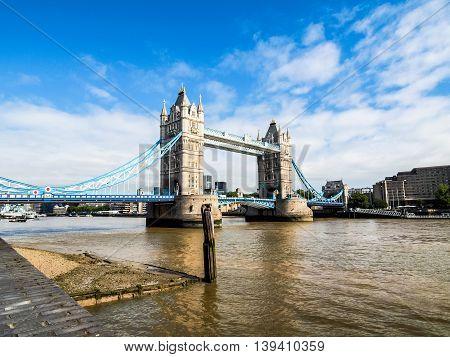 Tower Bridge, London Hdr