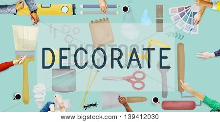 Decorate Bright Contemporary Creative Modern Concept
