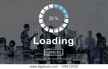 Loading Progress Indicator Interface Concept