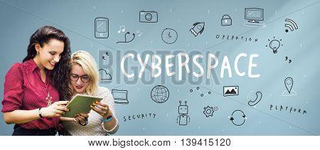 Communication Connection Internet Multimedia Technology Concept