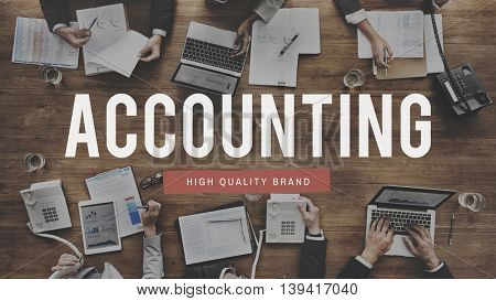 Accounting Banking Finance Income Concept