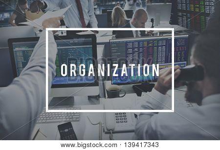 Organization Collaboration Commitment Team Concept