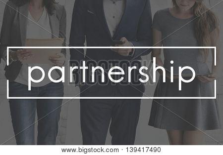 Partnership Together Collaboration Teamwork Concept