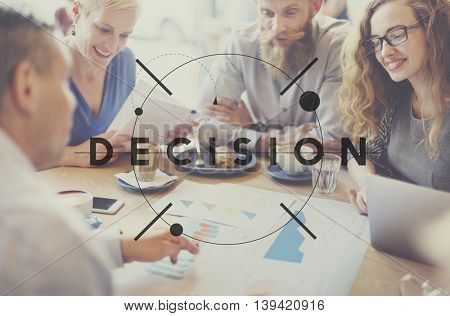 Decision Choice Conclusion Decide Resolution Concept