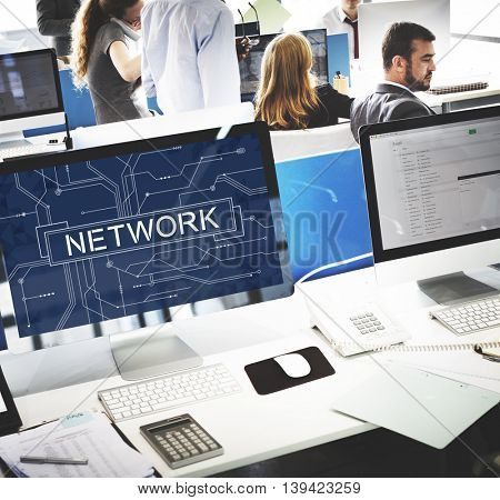 Network Internet Online Technology Future Concept