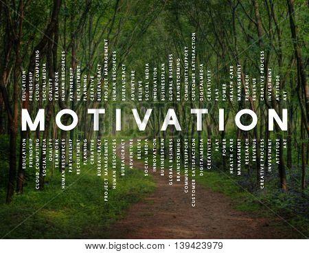 Motivation Inspiration Attitude Thinking Concept