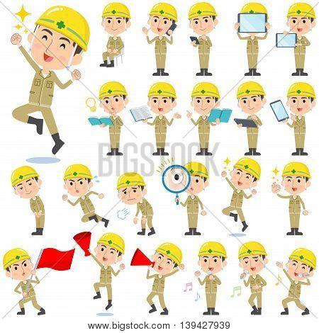 Helmet Construction Worker Man 2