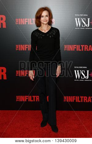NEW YORK-JULY 11: Actress Swoosie Kurtz attends 'The Infiltrator' New York premiere at AMC Loews Lincoln Square 13 Theater on July 11, 2016 in New York City.