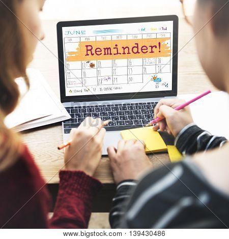 Reminder Agenda Planner Calendar To Do Concept