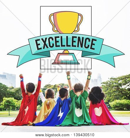 Excellence Children Aspiration Award Concept