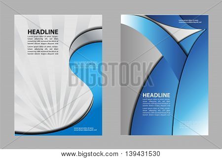 Professional business design layout template or corporate banner design.