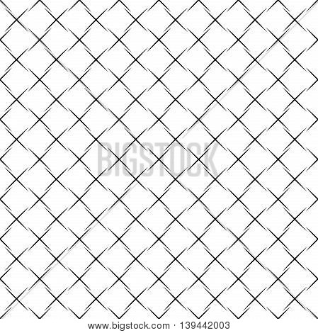 Geometric abstract vector background. Seamless modern pattern. Black and white pattern