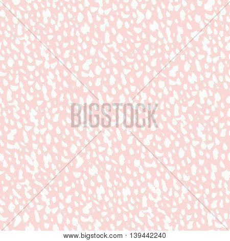 Seamless freehand drawn background uneven texture with spots, vector illustration