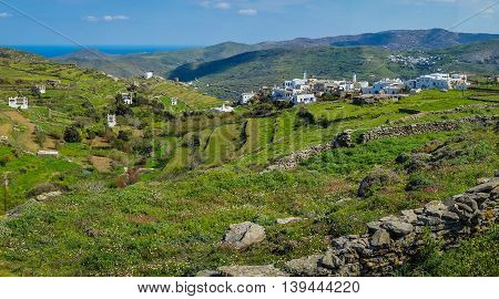 Pigeon Houses On The Island Of Tinos In Greece
