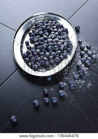 Blueberry With Sugar