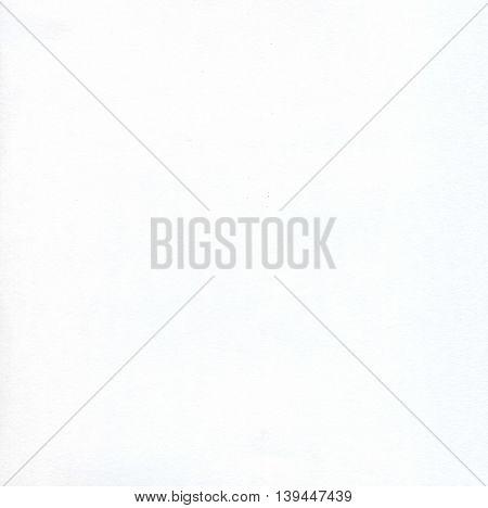 White Watercolor Paper