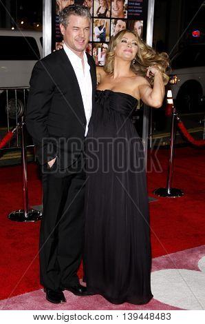 Rebecca Gayheart and Eric Dane at the Los Angeles premiere of 'Valentine's Day' held at the Grauman's Chinese Theater in Hollywood, USA on February 8, 2010.