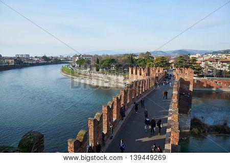 Castelvecchio Bridge (ponte Scaligero)
