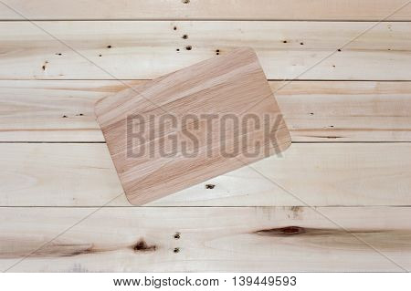 Wood Pallets Flooring For Background.