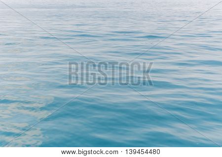 Water Clear In Sea At Tropical Beach Of Andaman