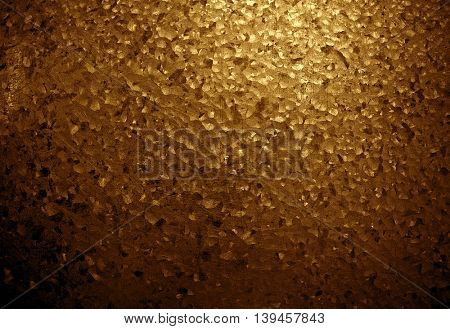 golden iron plate background