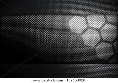 metal mesh template with cellular design background