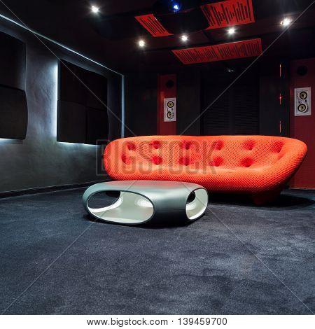 Modern Interior With Design Furniture